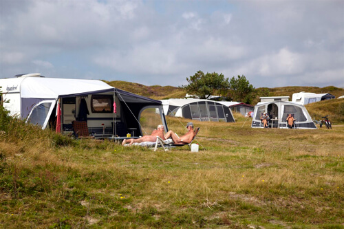 Camping Loodsmansduin op Texel