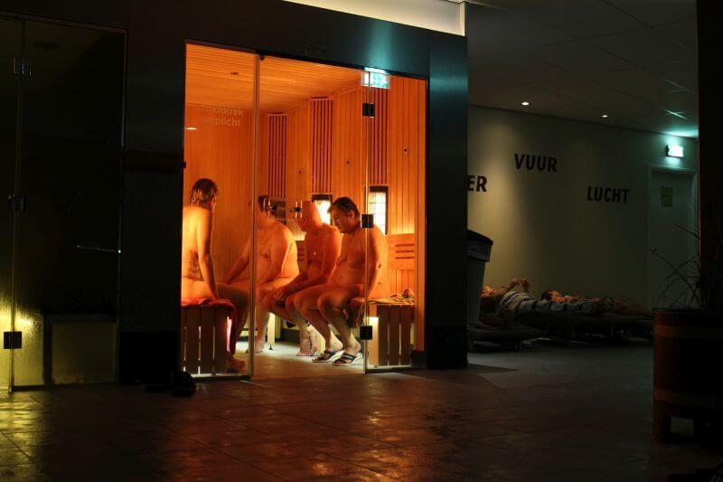 NatuurlijkNFN zwemfeest De Scheg sauna