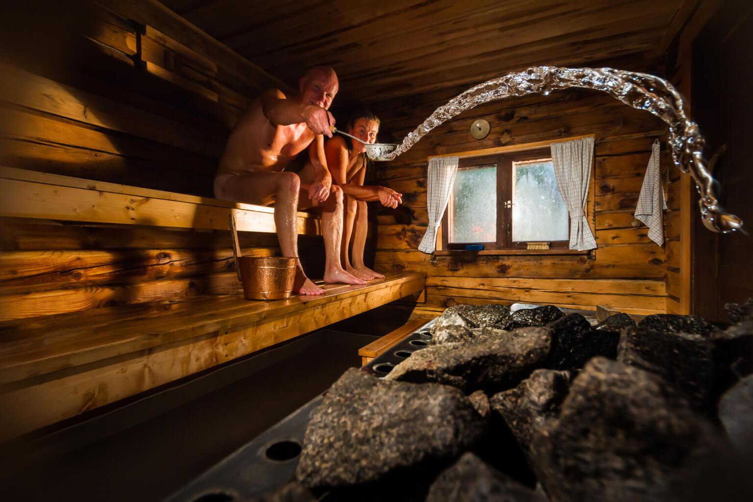 Sauna's toch open in lockdown