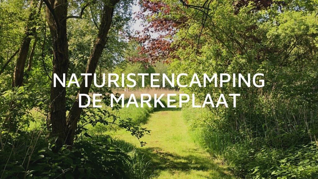 Naturistencamping De Markeplaat in Zevenbergen