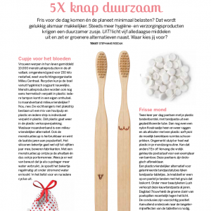 UIT! #4 5 x keer knap duurzaam magazine natuurlijk! nfn winternummer 2020